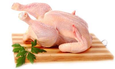 курица на доске