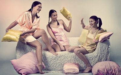 Как провести девичник перед свадьбой пижамная вечеринка
