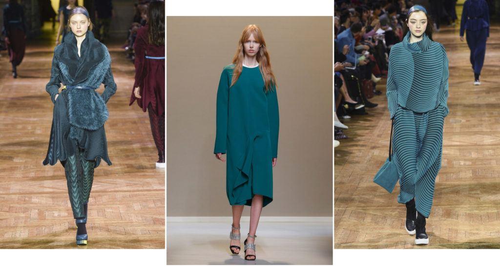Shaded Spruce модный цвет 2018