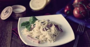 спагетти карбонара классический рецепт со сливками и беконом