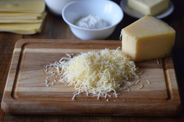 Лазанья с грибами и сыром