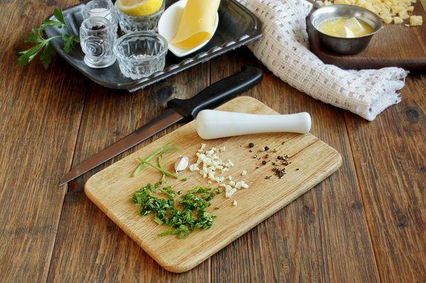 запеченные с сыром устрицы