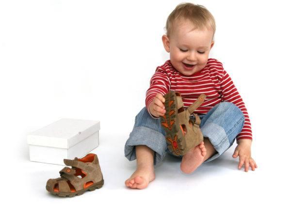 детская обувь какую выбрать