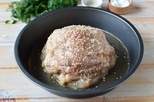 курица удиви соседку рецепт с фото