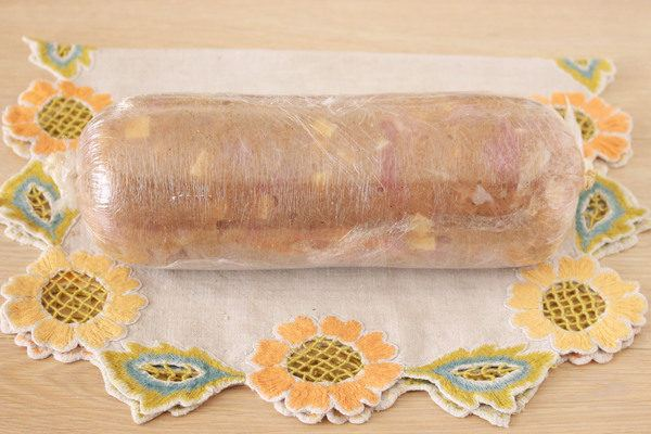 Домашняя колбаса из курицы рецепт с фото