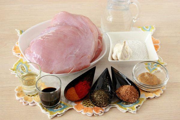 Буженина из индейки в духовке в фольге, пошаговый рецепт