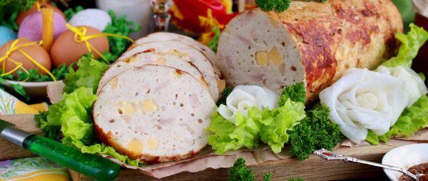 Куриная колбаса в домашних условиях в пищевой пленке