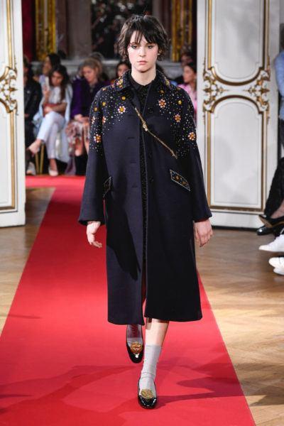 Модные тенденции весна осень 2018, пальто женское