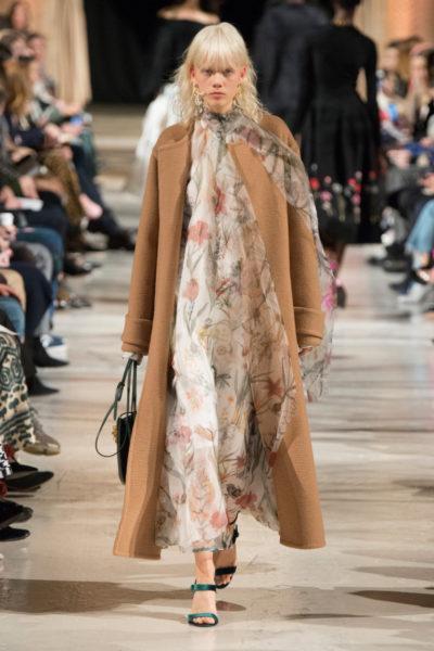 модные длинные пальто весна 2018 фото женские