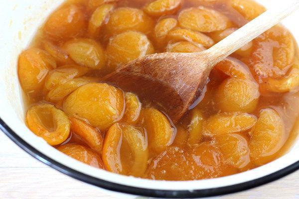 абрикосовое варенье дольками пятиминутка