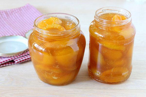 абрикосовое варенье дольками