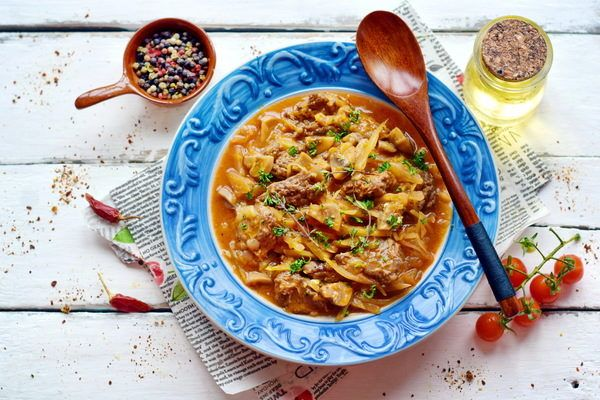 солянка капустная рецепт