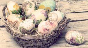 Красим яйца к пасхе