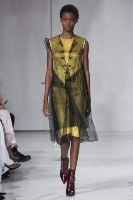 модные показы на неделе в Нью-Йорке ready-to-wear SS 2018