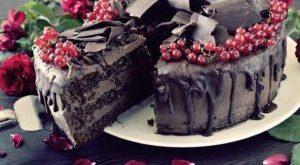 шоколадные подтеки на торте рецепт