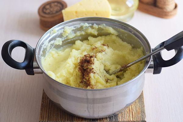 картофельная запеканка с грибами и сыром в духовке рецепт с фото