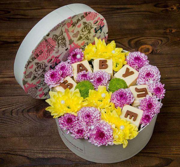 какие цветы дарить бабущке