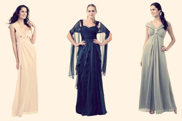 Вечернее платье для женщин за 40