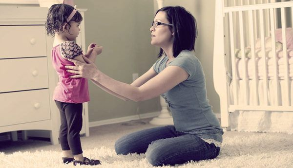 Как не кричать на ребенка, когда он не слушается