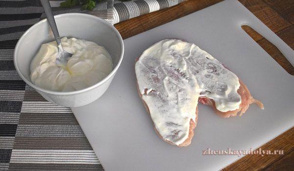 рецепты куриной грудки в духовке диетические