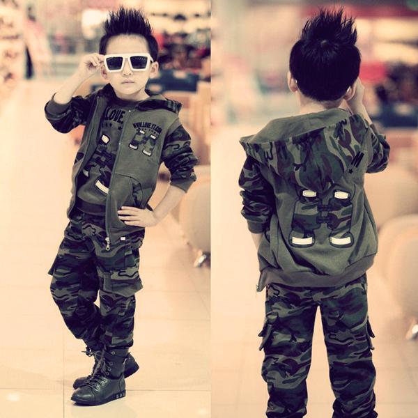 милитари в детской моде