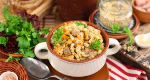 Рецепт перловки с грибами и луком и морковью